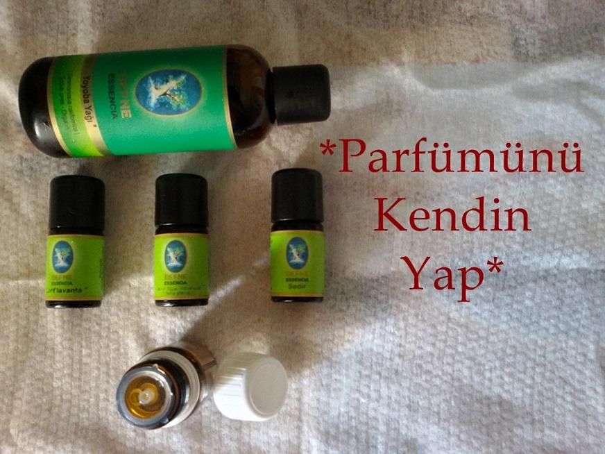 Evde doğal parfüm nasıl yapılr