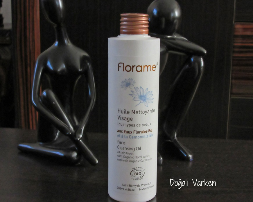 İtalyan organik kozmetik markası Florame cilt temizleme yağı
