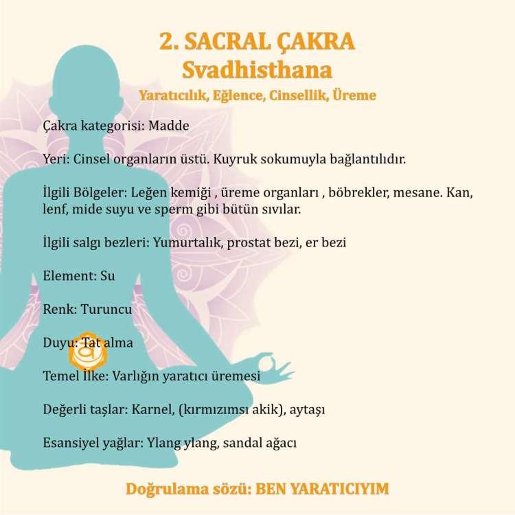Sacral Çakra'nın Özellikleri
